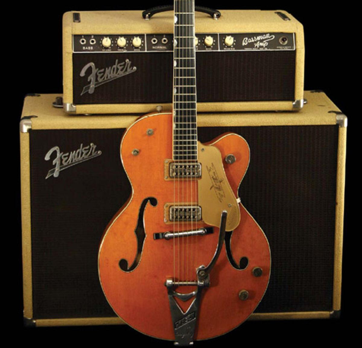1961 Gretsch Chet Atkins Hollowbody Model 6120 Serial #40749