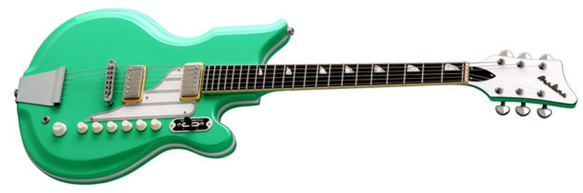 Eastwood Guitars Introduces the Airline '59 Newport