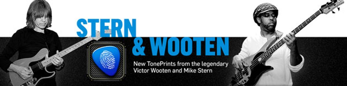 TC Electronic Releases Mike Stern and Victor Wooten TonePrints