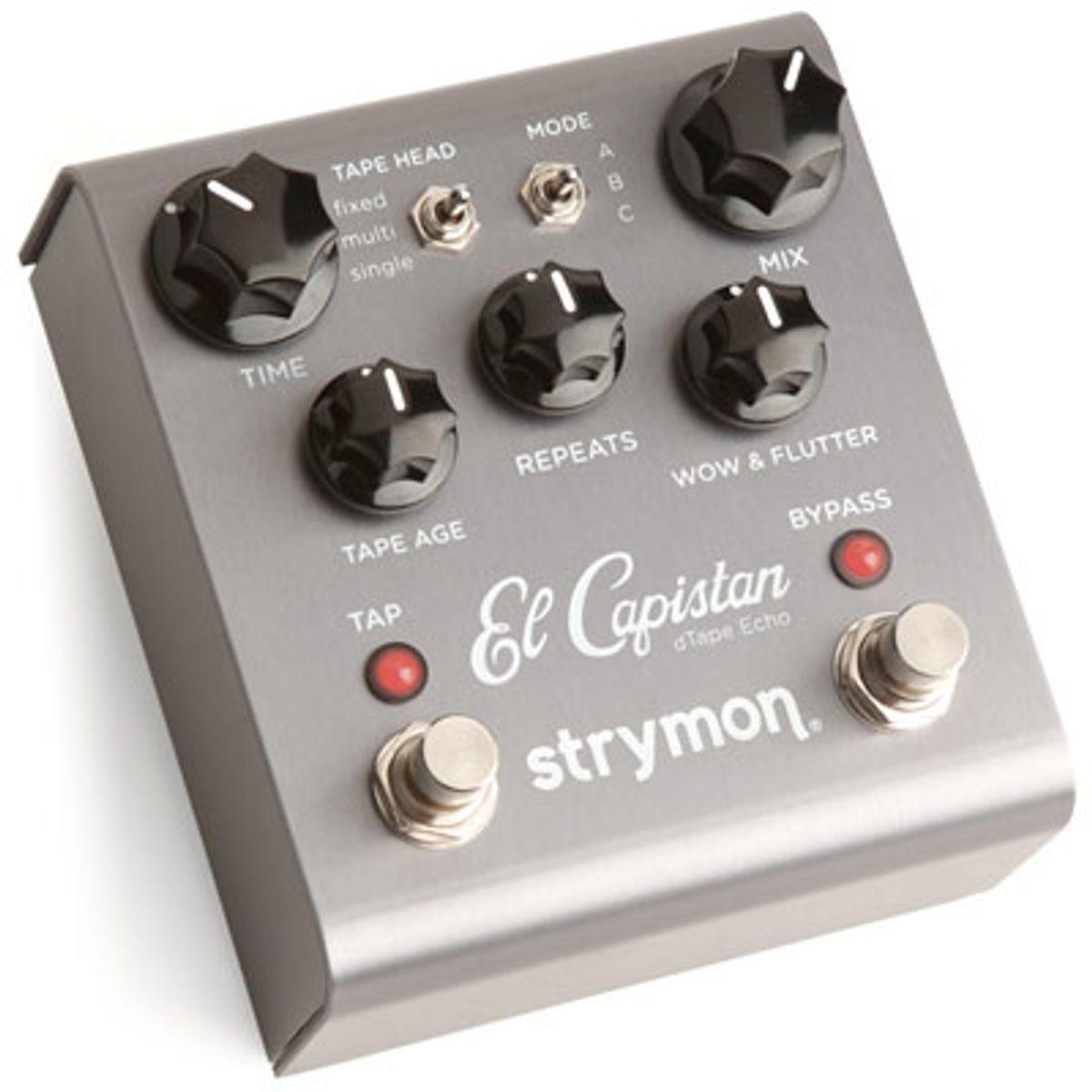 Strymon Unveils El Capistan dTape Echo