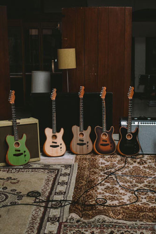 Fender Introduces the Acoustasonic Series