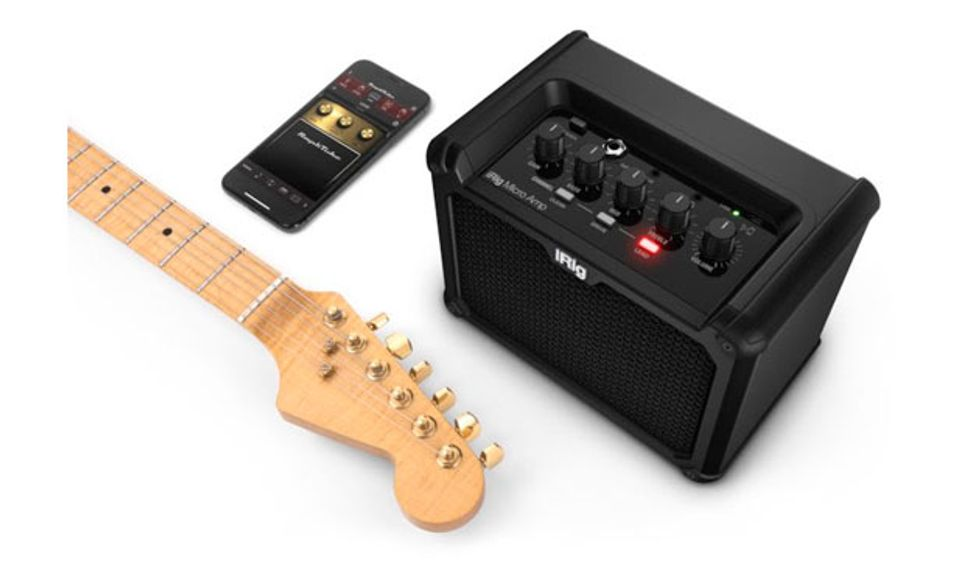 IK Multimedia Announces the iRig Micro Amp