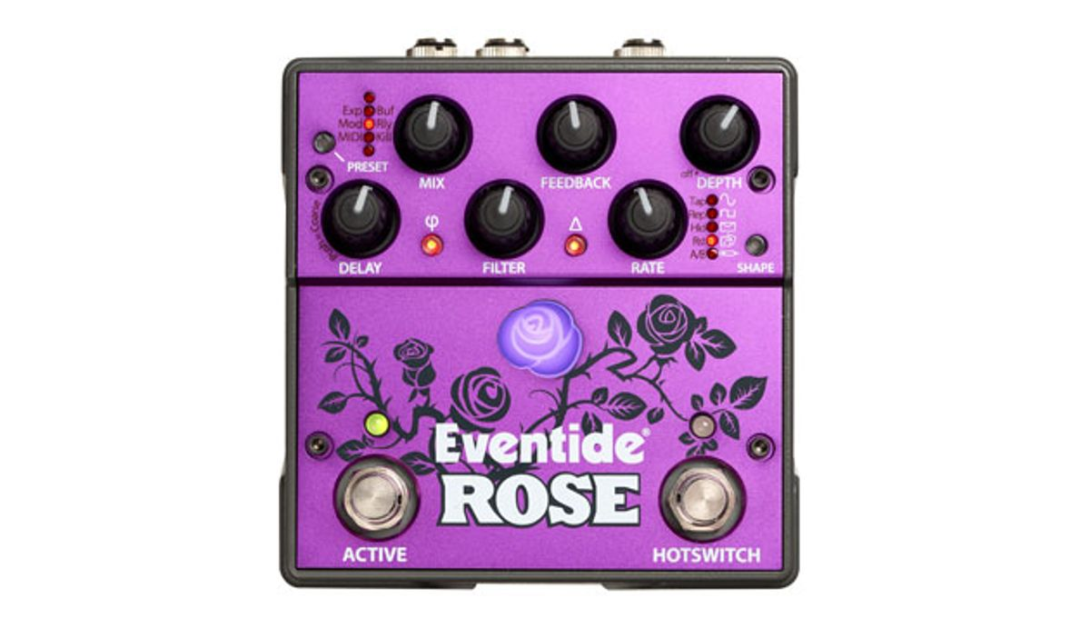 Eventide Introduces the Rose