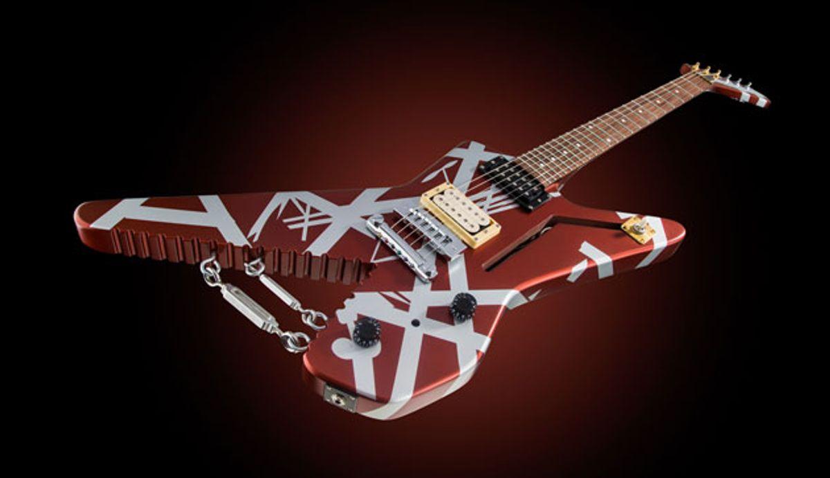 EVH Announces the Striped Series Shark Model