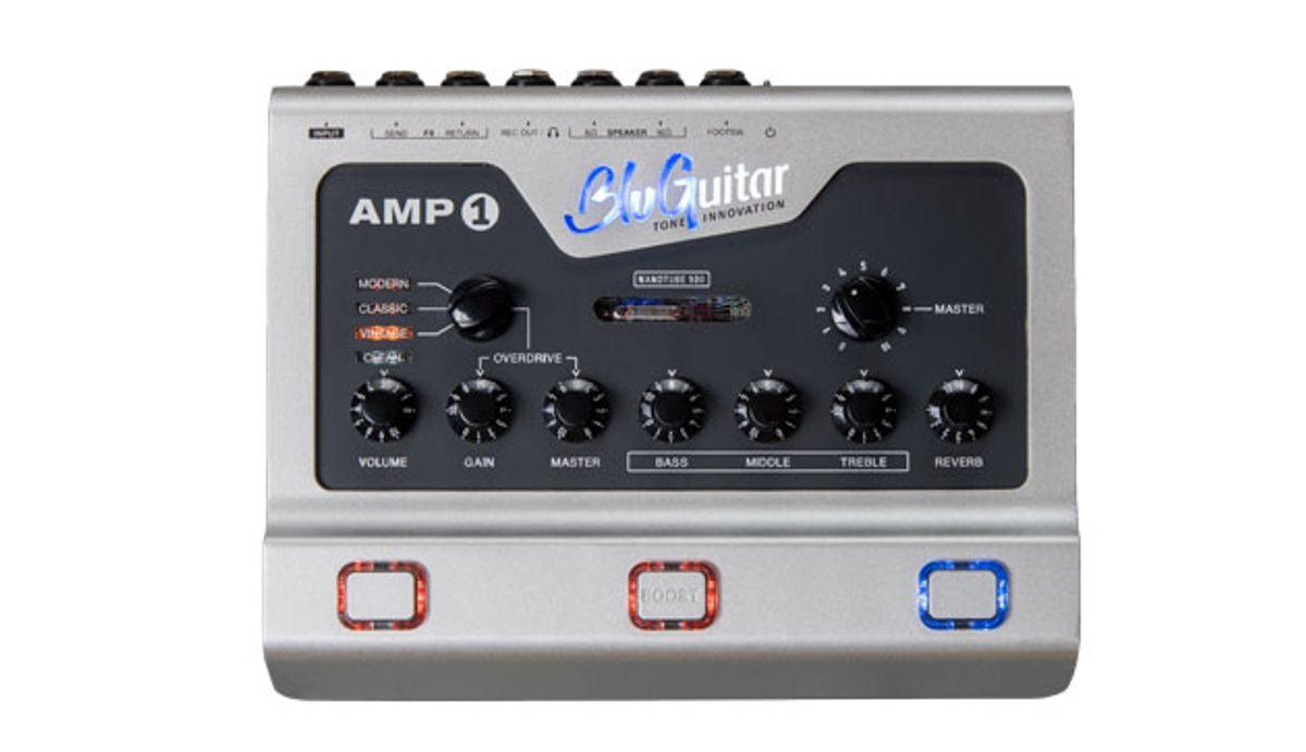 BluGuitar Unveils the AMP1 Mercury Edition