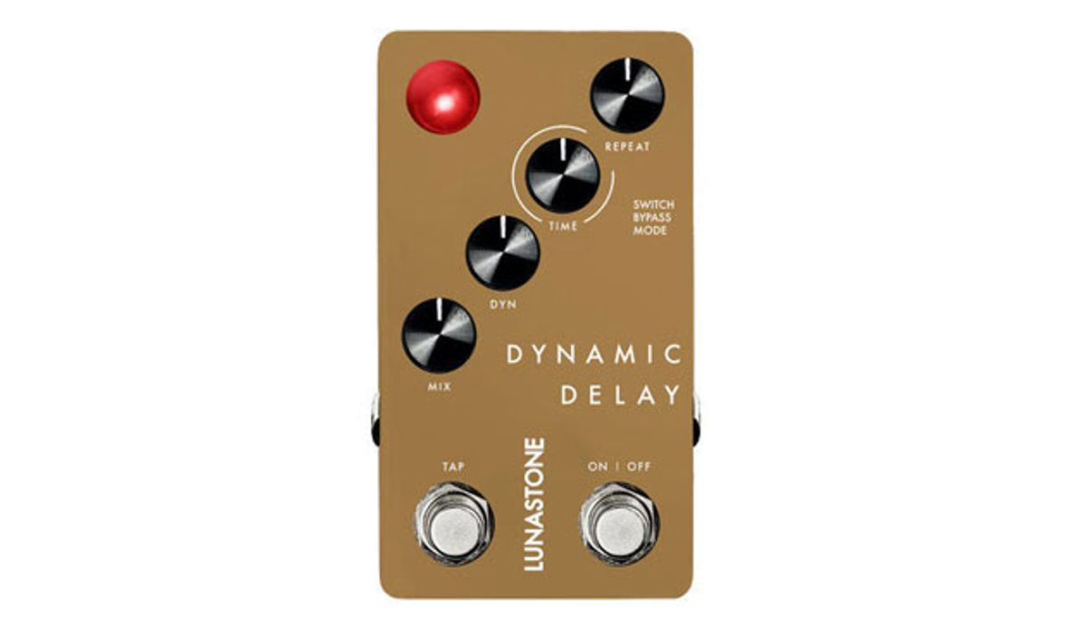 Lunastone Pedals Releases the Dynamic Delay
