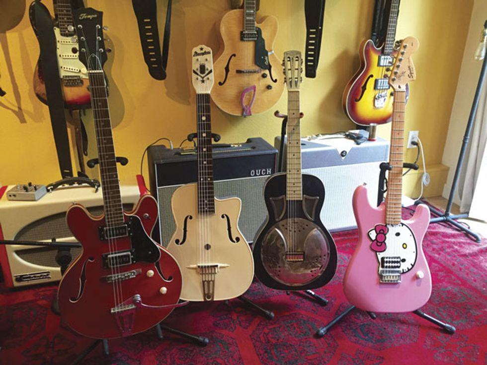 The Recording Guitarist: Trashy Good Tones