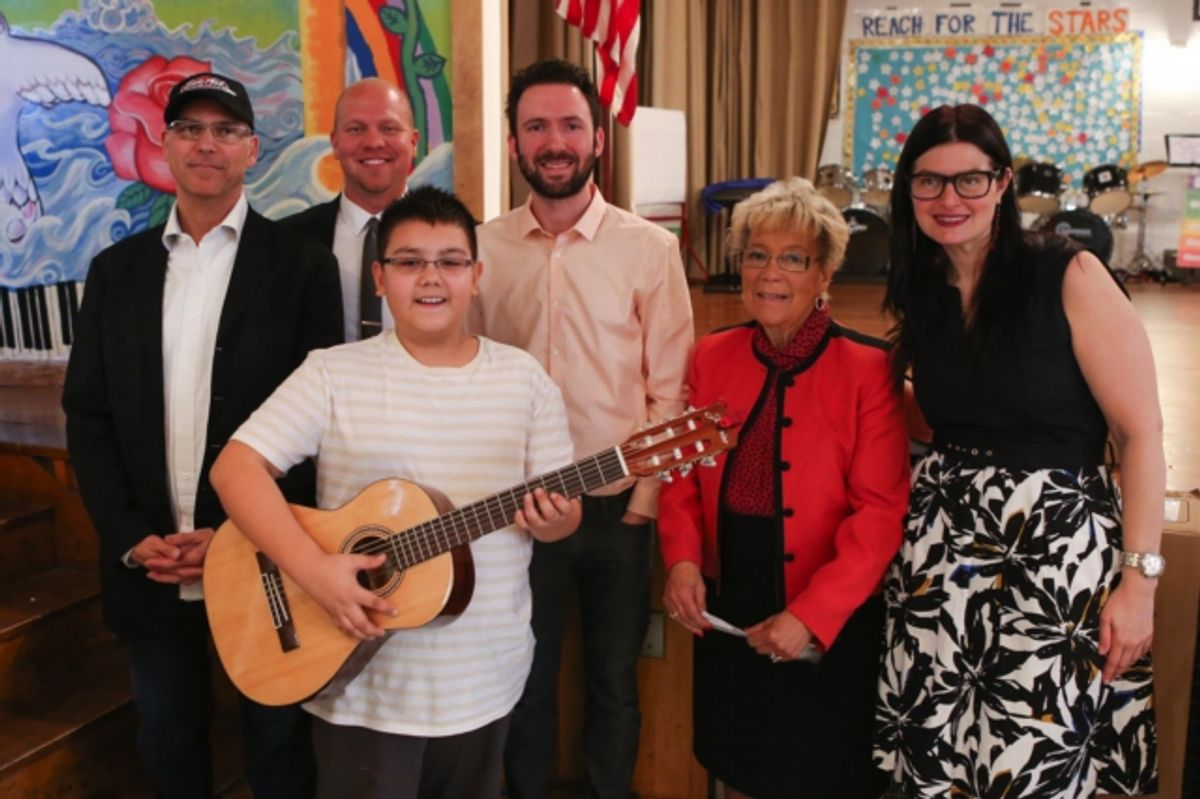 Fender and Sam Ash Bring the Gift of Music to Children in Queens, NY
