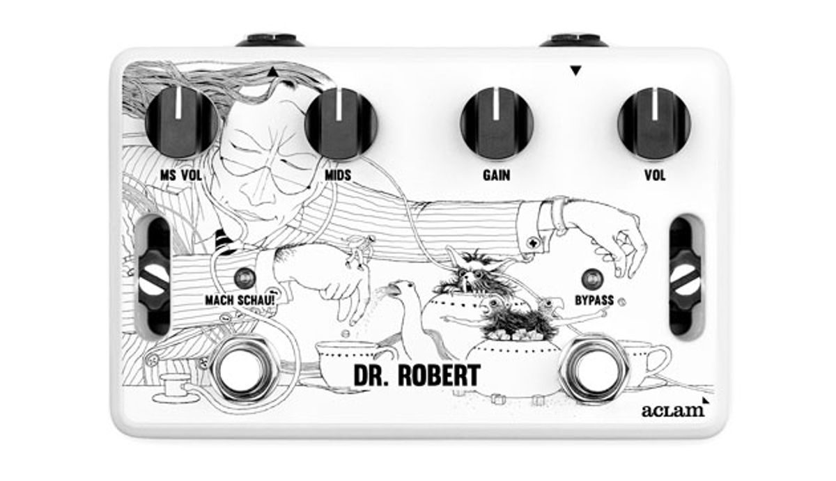 Aclam Guitars Releases the Dr. Robert Overdrive
