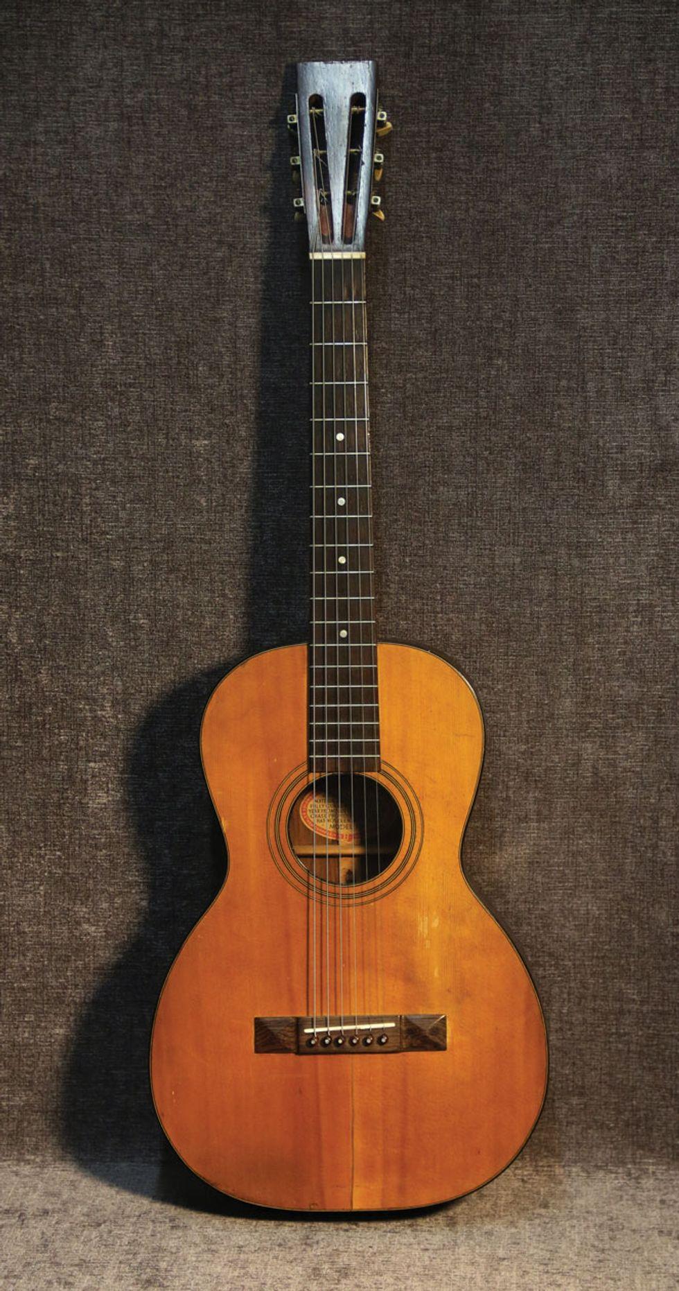 Vintage Vault: 1921 Washburn Model 1915 Style 1222 | Premier Guitar
