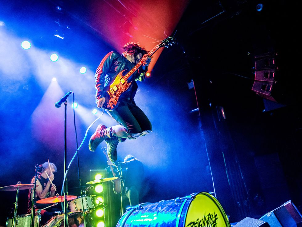 Reignwolf's Jordan Cook: Catching Air