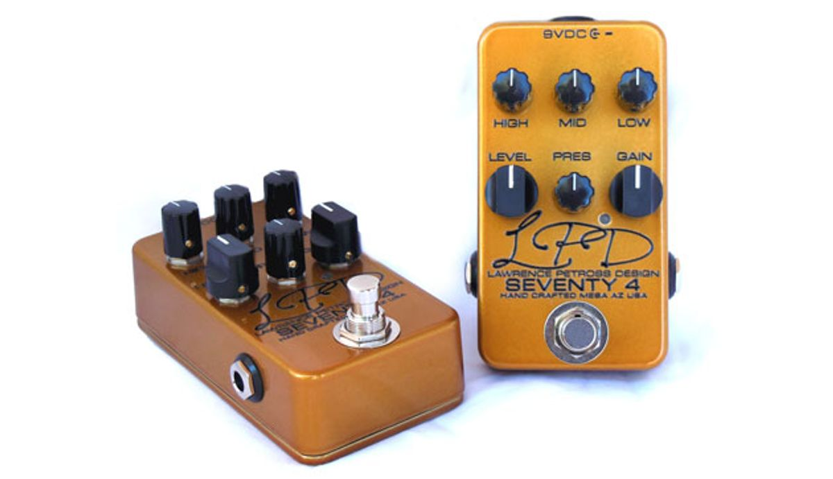 Lawrence Petross Design Releases the Seventy 4 Overdrive