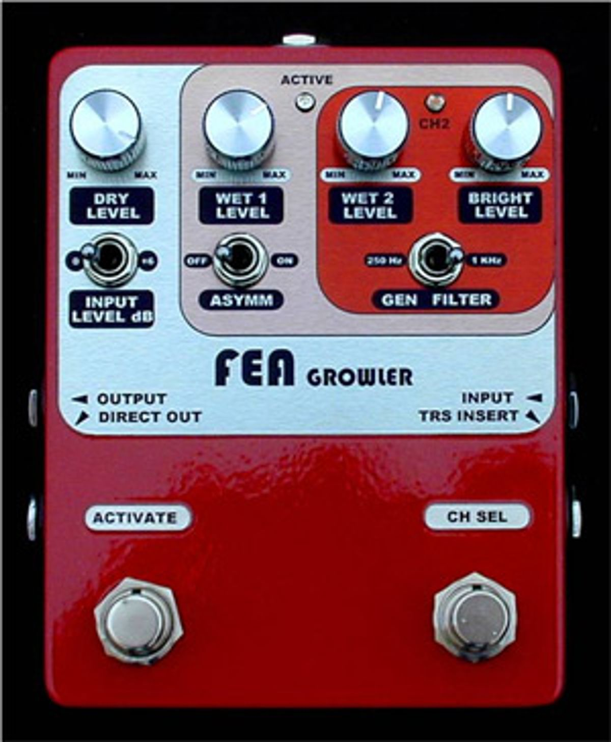 FEA Labs Introduces Growler Bass Pedal