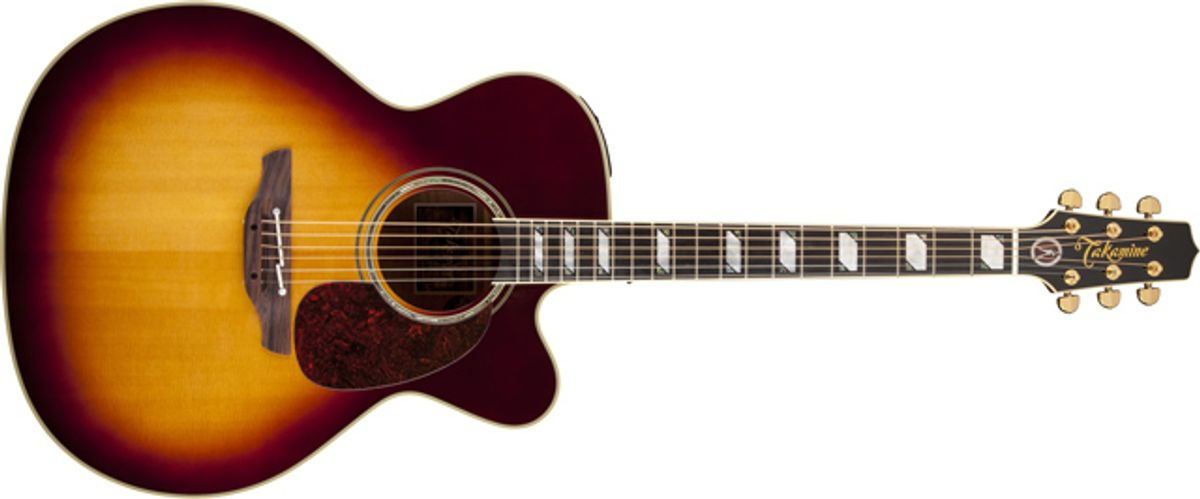 Takamine Introduces the EF250TK Toby Keith Signature Acoustic-Electric Guitar