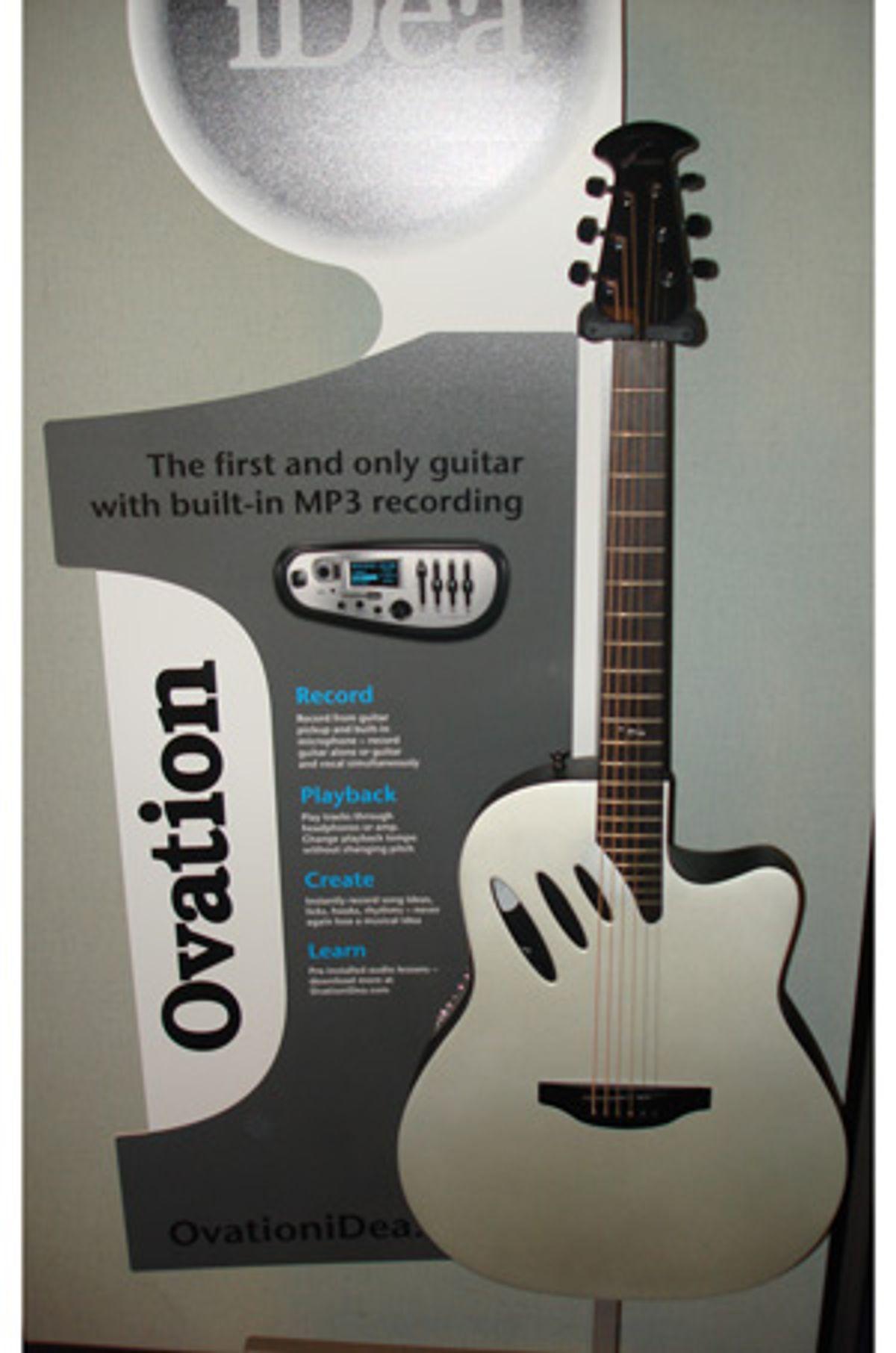 Ovation Releases iDea Guitar