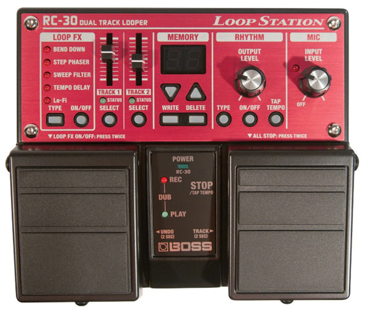 Boss RC-30 Loop Station Pedal Review