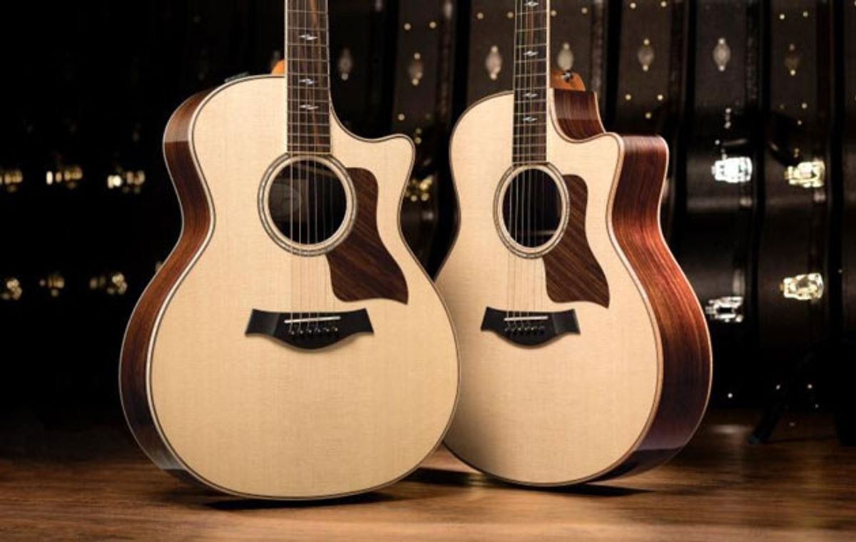 Taylor Guitars Celebrates 40th Anniversary with New 800 Series
