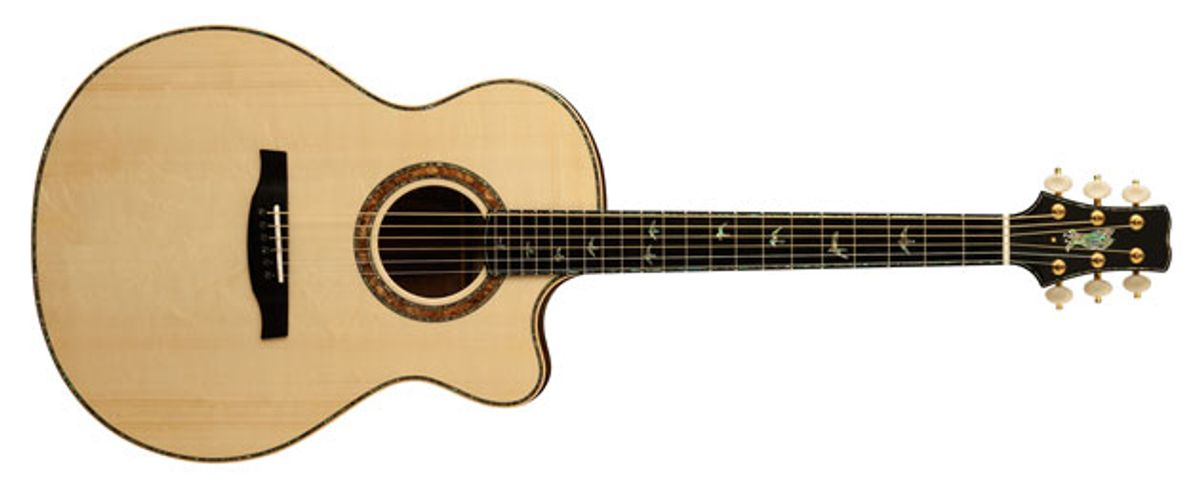 PRS Guitars Introduces the Private Stock Alex Lifeson Thinline Acoustic