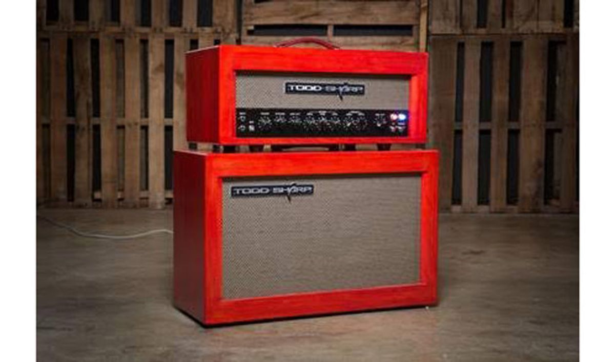 Todd Sharp Amplifiers Introduces the JOAT 30RT