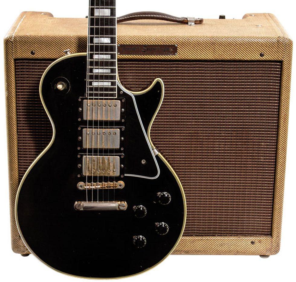 Vintage Vault: 1958 Gibson Les Paul Custom | Premier Guitar