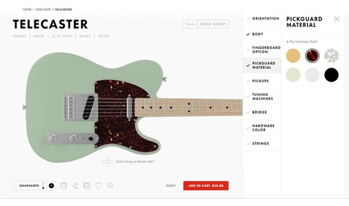 Fender Unveils the Mod Shop