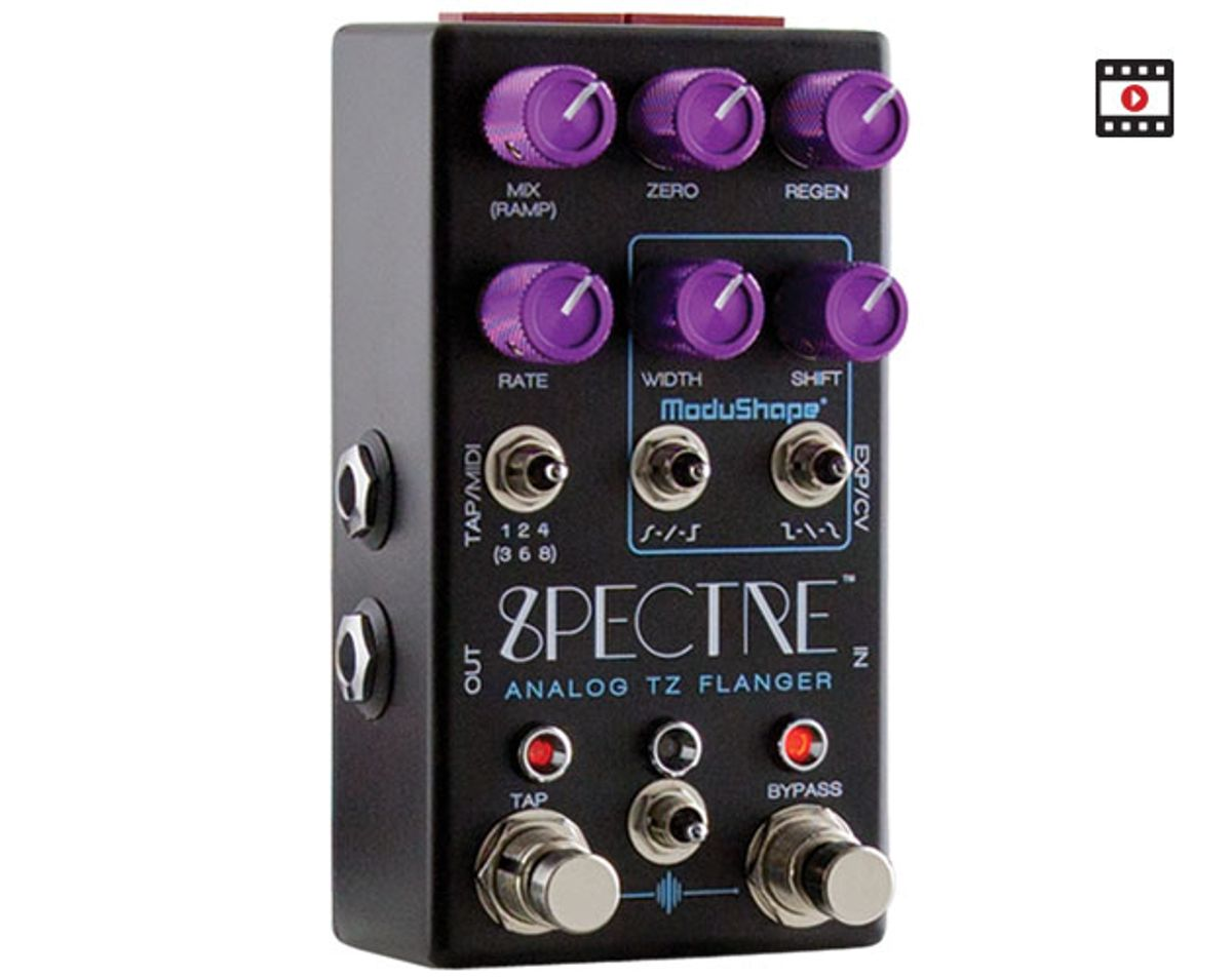 Chase Bliss Audio Spectre Analog TZ Flanger Review