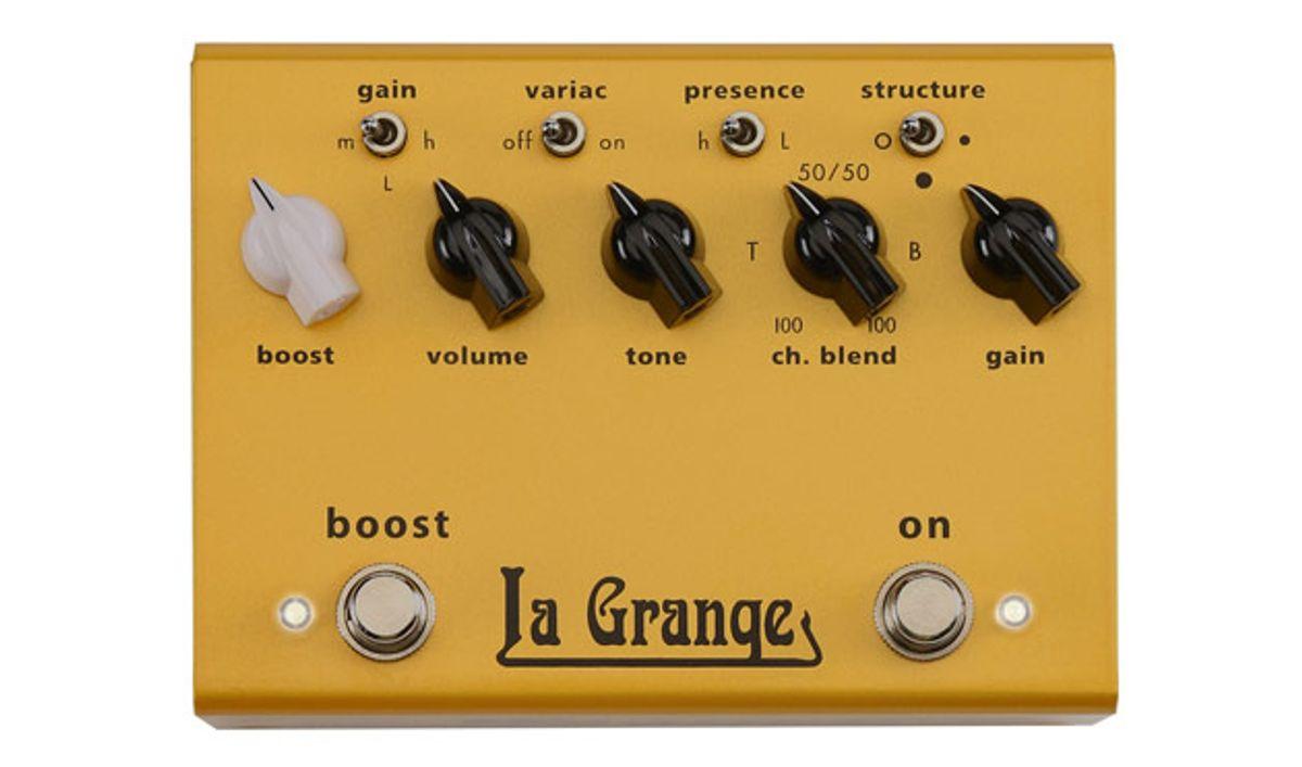 Bogner Unveils the La Grange Overdrive/Boost Pedal