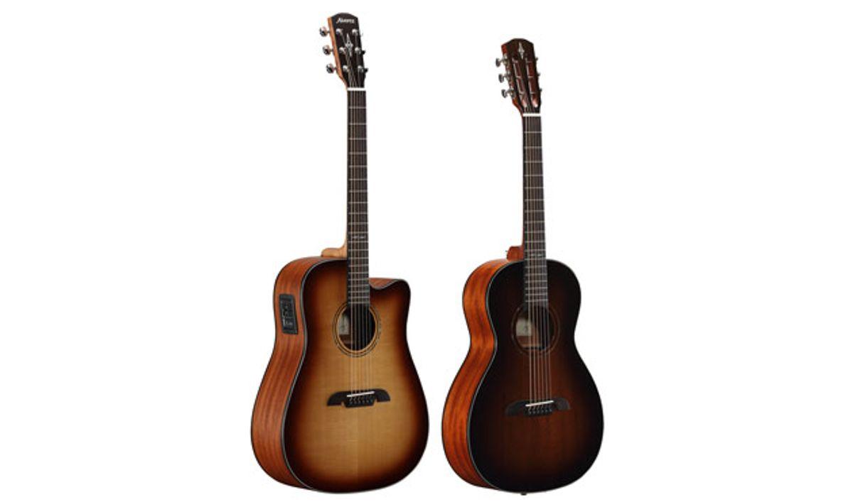 Alvarez Guitars Releases Artist Series Shadowburst Models