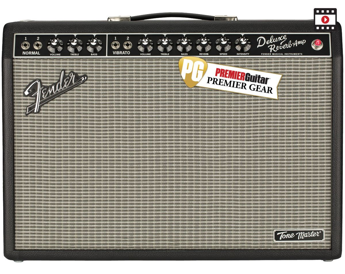Fender Tone Master Deluxe Reverb: The Premier Guitar Review