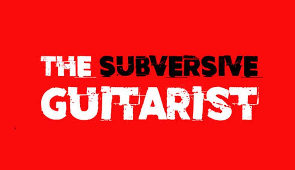 The Subversive Guitarist: The Flat Second's Dark Dissonance