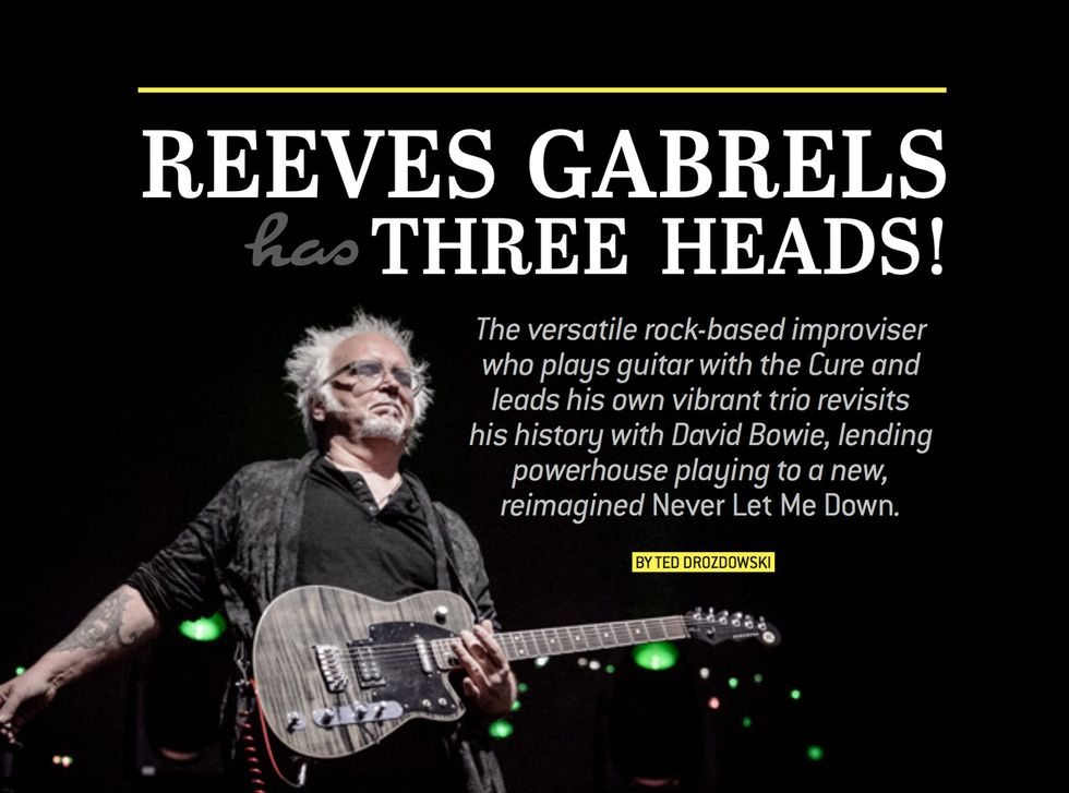 Reeves Gabrels Revisits His Bowie Years | Premier Guitar