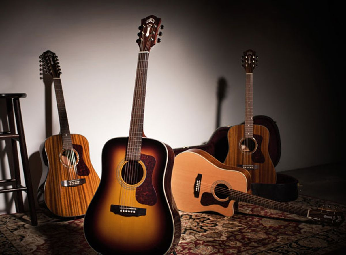 Guild Guitars Unveils the Westerly Collection