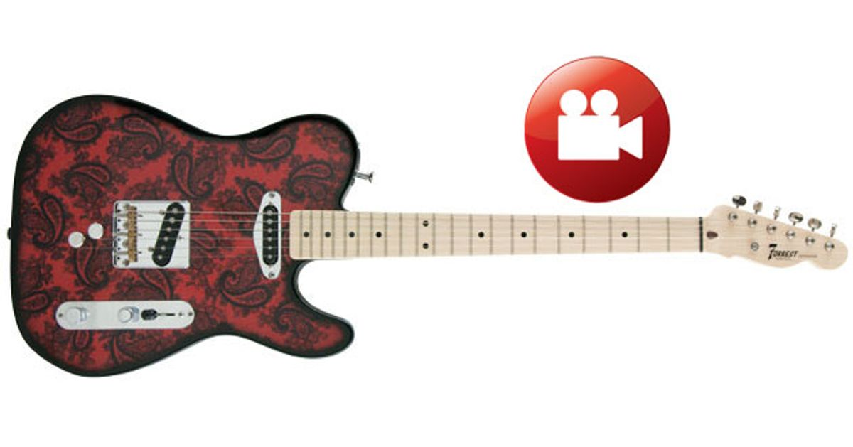 Forrest Custom Guitars DB Boost B and G Bender Review
