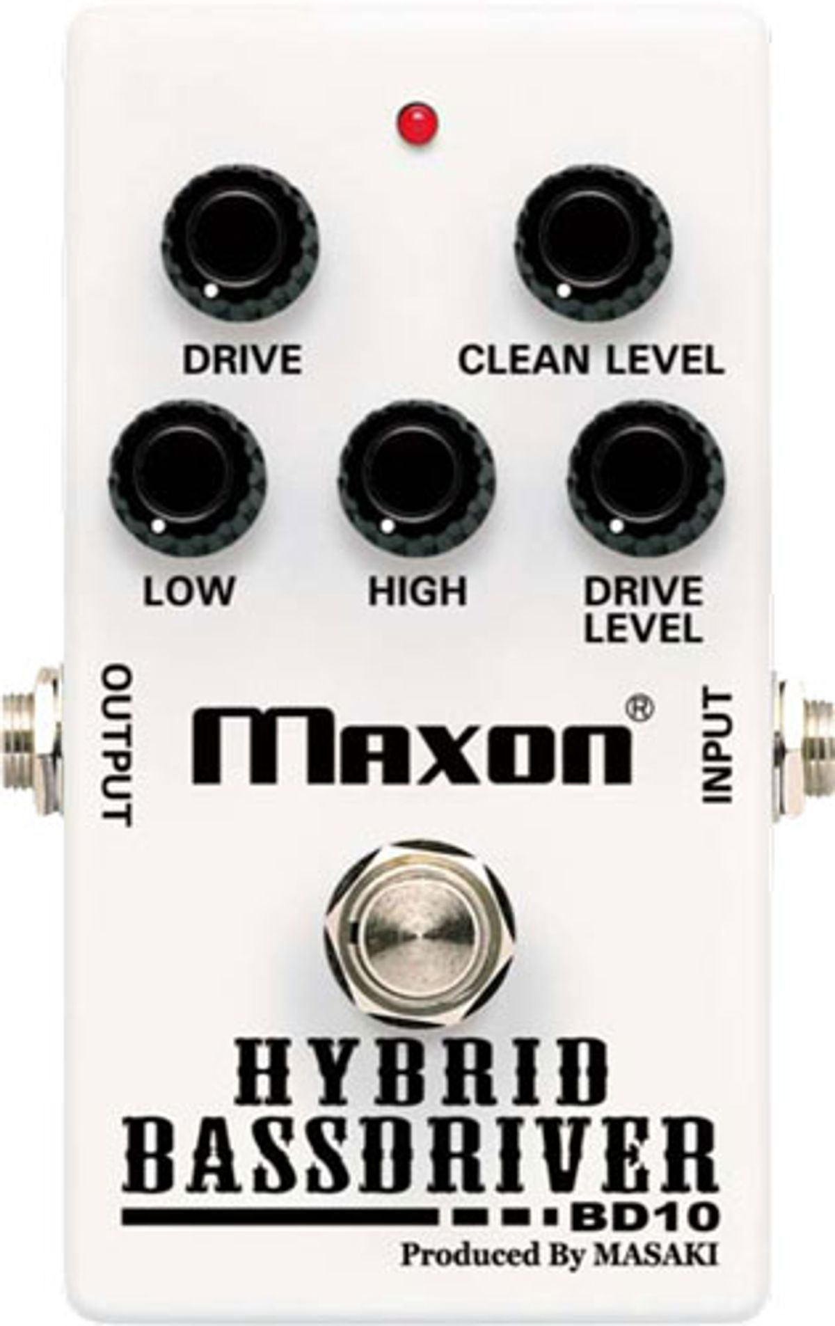 Maxon Releases the BD10 Hybrid Bass Driver