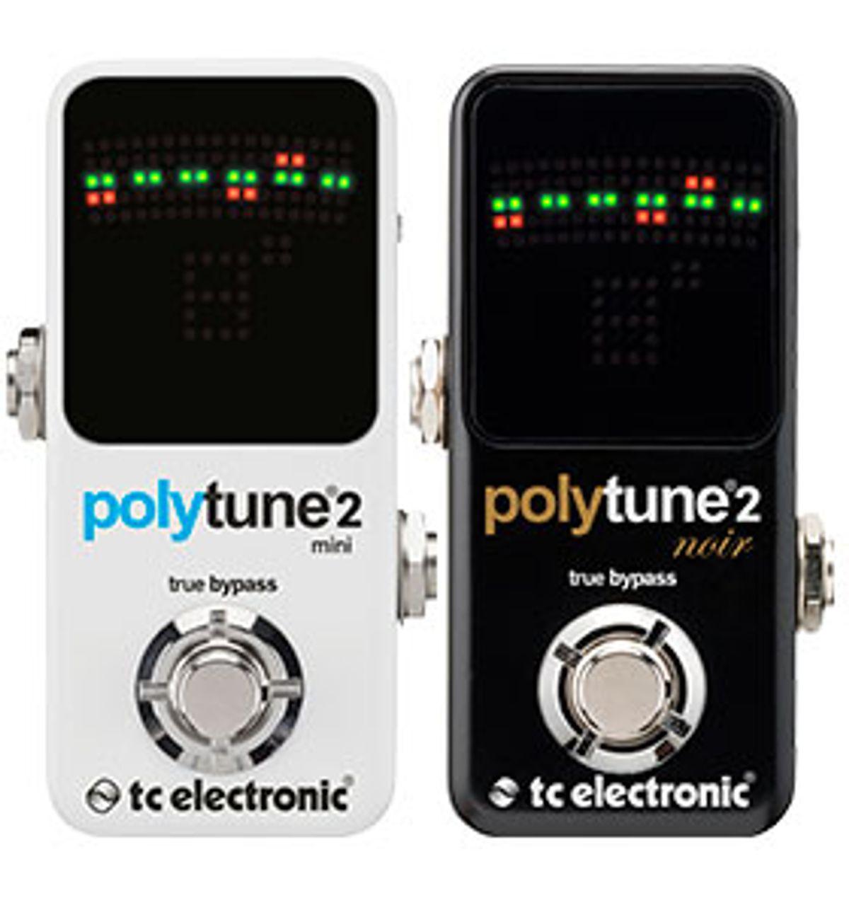 TC Electronic Unveils the PolyTune 2 Mini