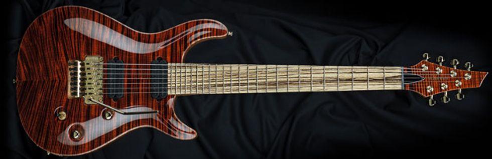 carvin guitars introduces zebrawood fretboards 2014 08 28 premier guitar. Black Bedroom Furniture Sets. Home Design Ideas