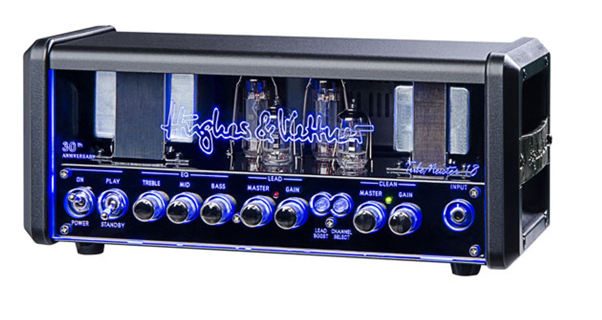 Hughes & Kettner Celebrates 30th Anniversary with NOS Tubemeister Series