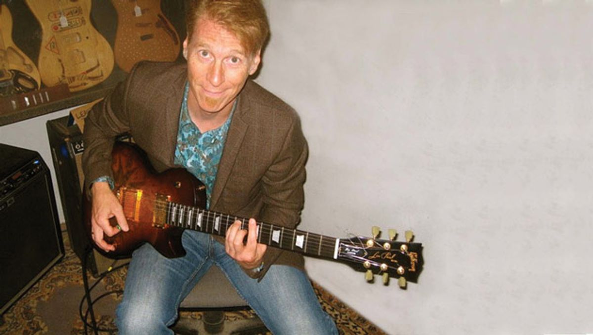 Reader Guitar of the Month: Gilded Tobacco Burst Les Paul