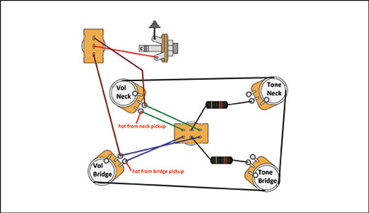 Mod Garage: Switchable Modern-Retro Les Paul Wiring