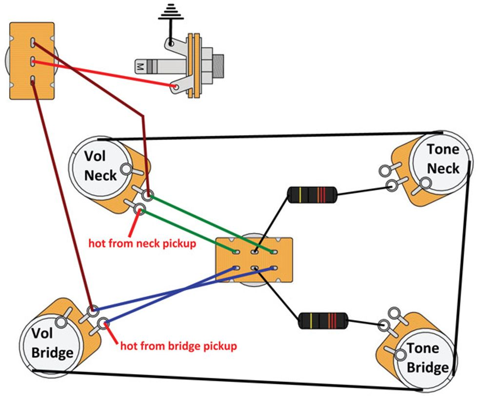 on 50s wiring diagram les paul
