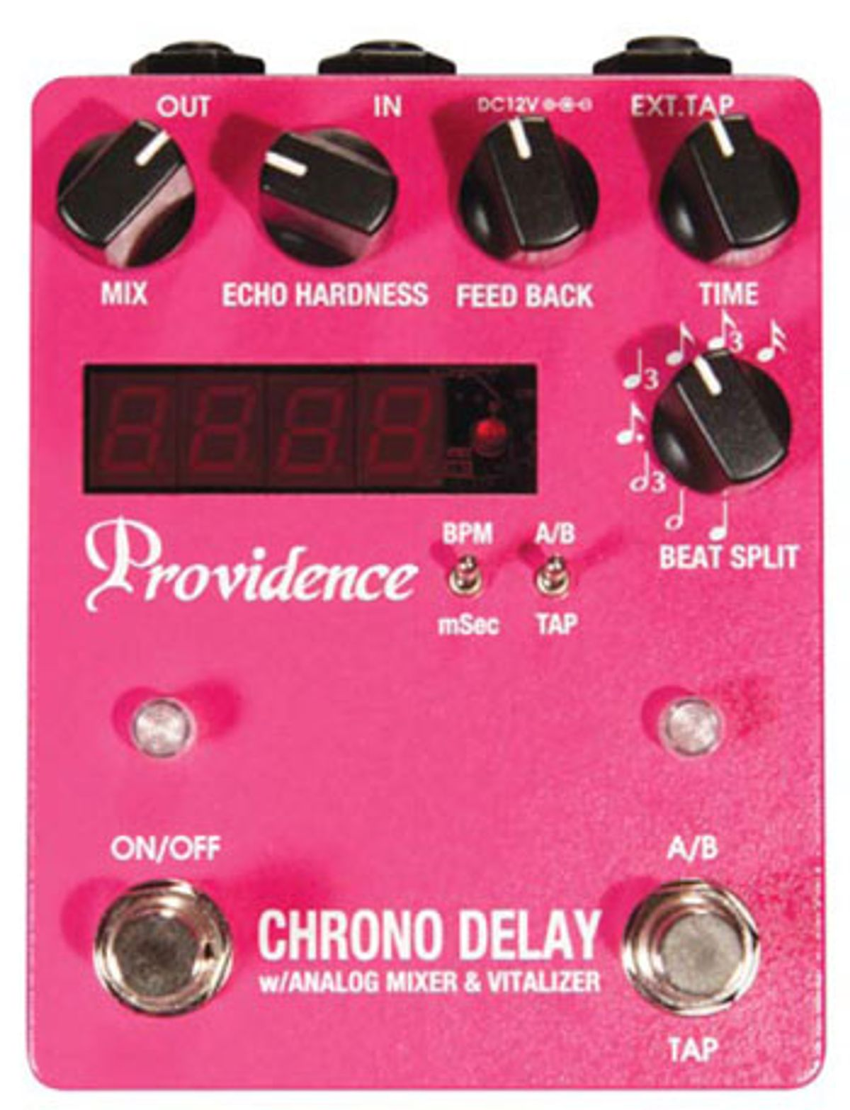 Providence Chrono Delay DLY-4 Pedal Review