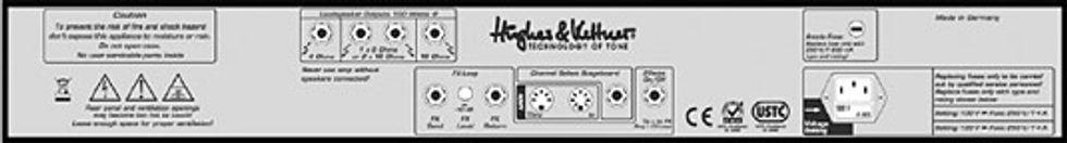 Hughes & Kettner Switchblade 100 Head