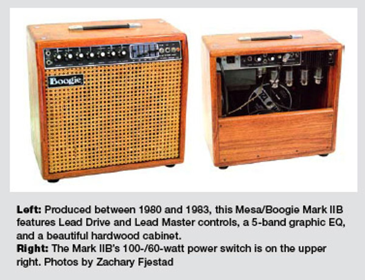 Mesa/Boogie Mark IIB Combo Amp