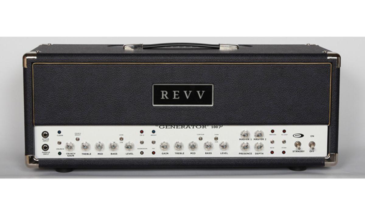 Revv Amps Announces the Generator 100P