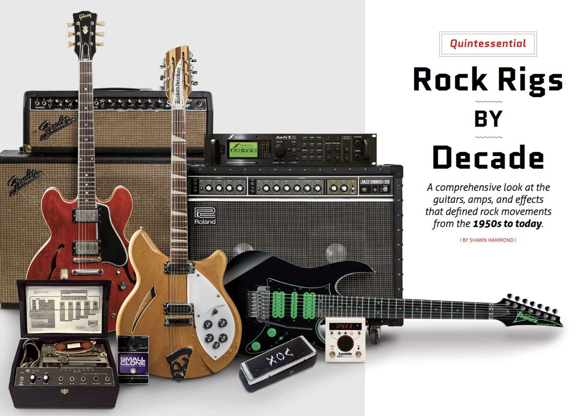 Quintessential Rock Rigs by Decade