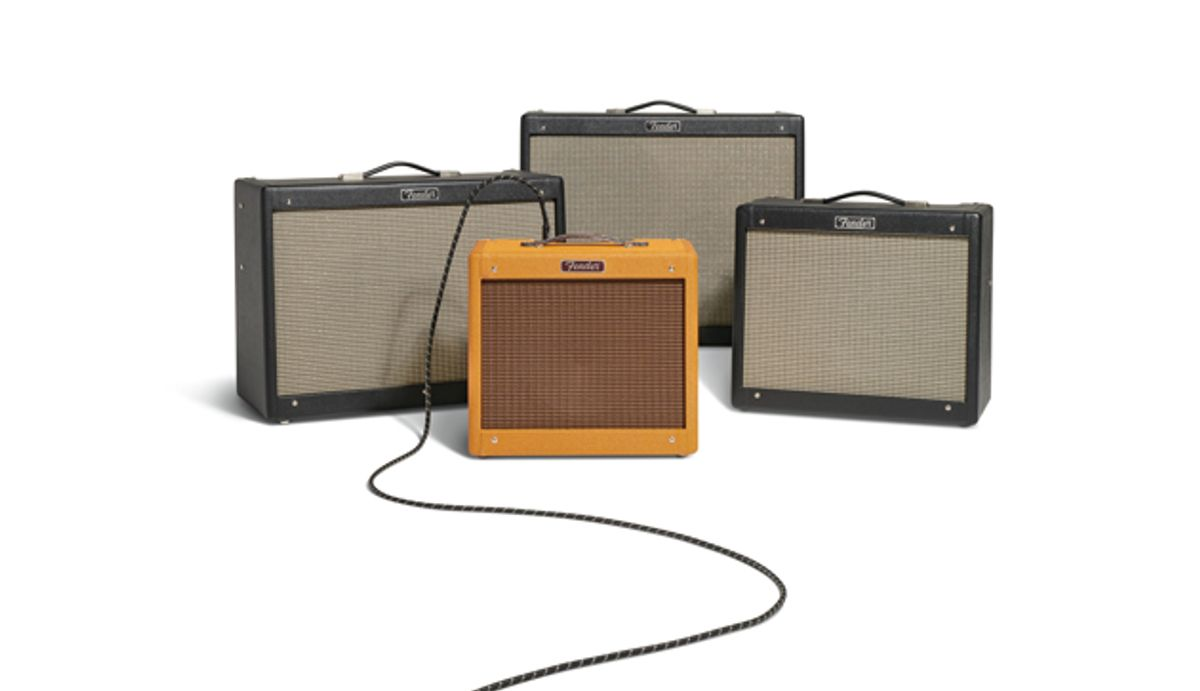 Fender Updates the Hot Rod DeVille, Hot Rod Deluxe, Blues Junior, and Pro Junior Amps