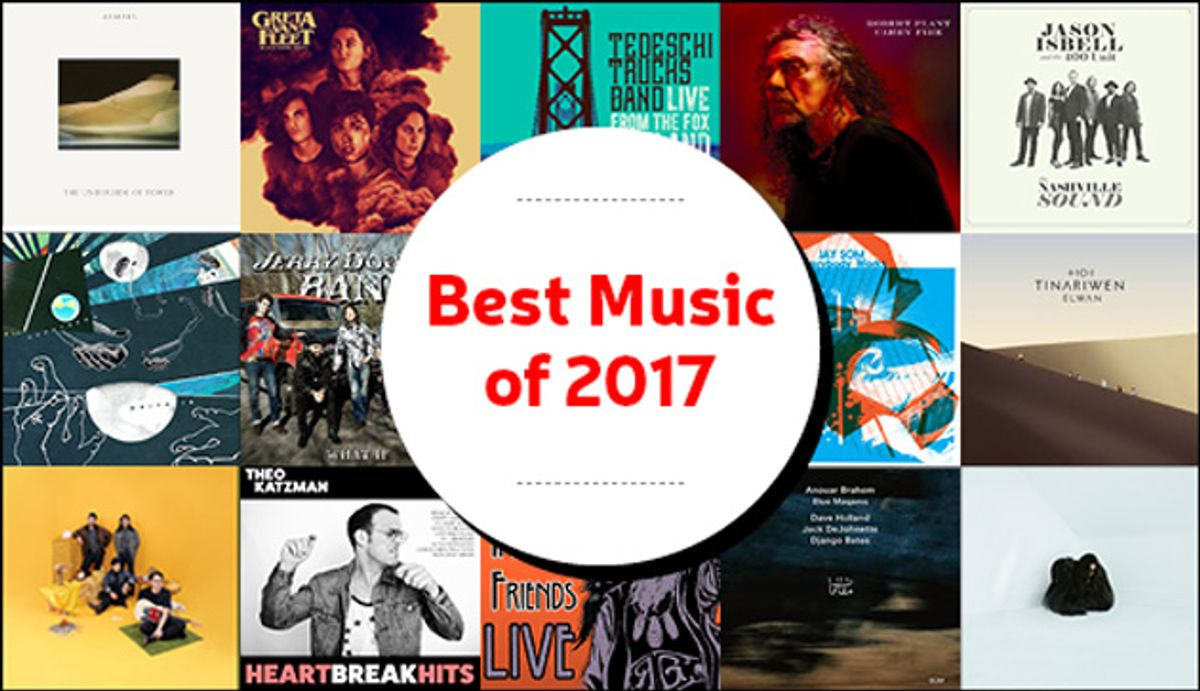 PG Editors' Best Music of 2017