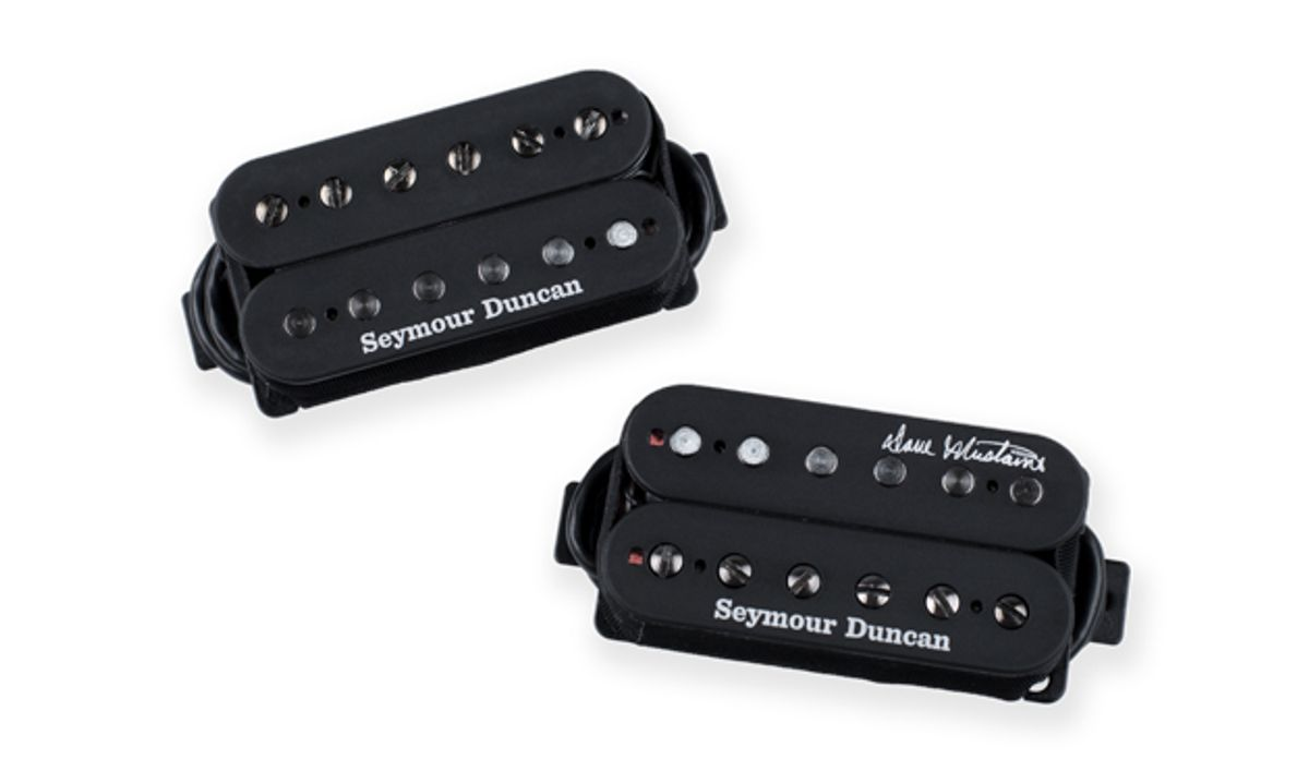 Seymour Duncan Introduces the Dave Mustaine Signature Thrash Factor Pickup