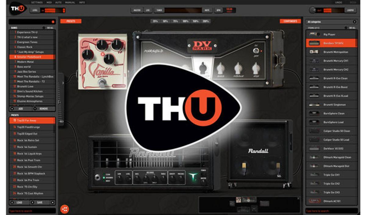 Overloud Releases the TH-U Plugin