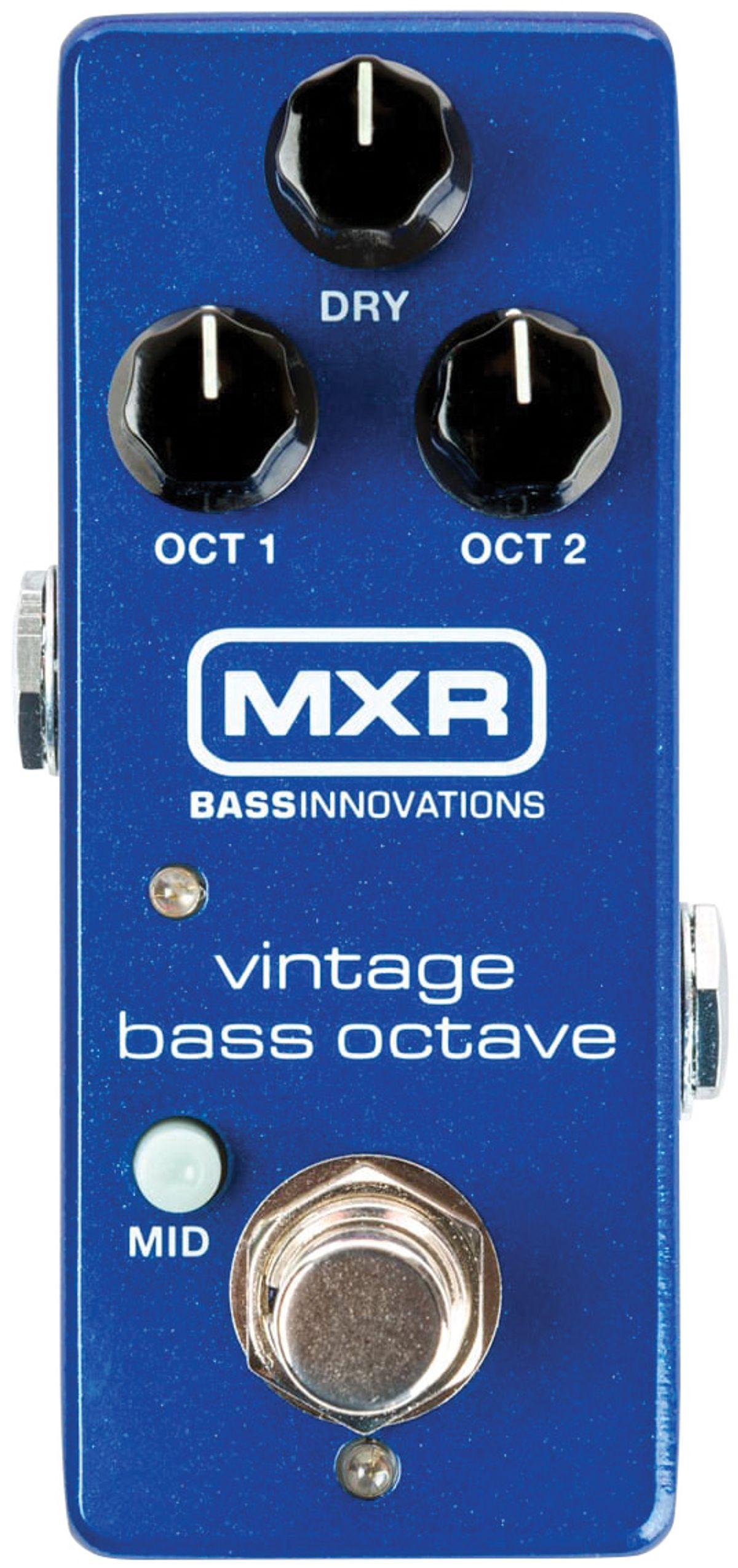 Quick Hit: MXR Vintage Bass Octave Review
